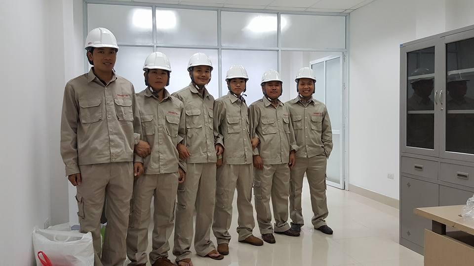 Đội ngũ cán bộ công nhân viên công ty