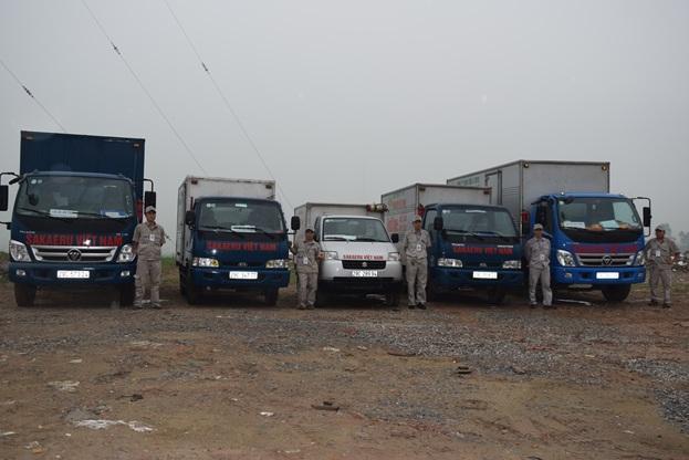 Vận tải xe thùng kín